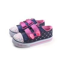 SKECHERS  Twinkle Toes 布鞋 運動鞋 燈鞋 童鞋 小童 藍色 10788NDNPK no762