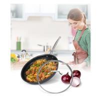 Cuisinart美膳雅 經典主廚不沾超硬陽極系列-單柄煎鍋30cm(622-30GTW)