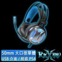 FOXXRAY 噴火響狐USB電競耳機麥克風(FXR-SAV-09)