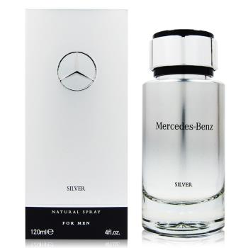 Mercedes Benz SILVER 2017 銀輝幻羽 男性淡香水120ml (法國進口)