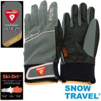 [SNOW TRAVEL]軍用PRIMALOFT-GOLD+特戰SKI-DRI防水保暖合身型手套AR-67/灰色/日韓限量版
