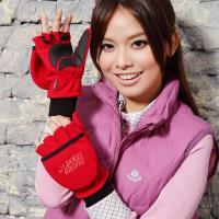 [SNOWTRAVEL]高防風透氣雙層半指手套AR-48/活動用促銷款!!這雙才是觸控手套的王牌