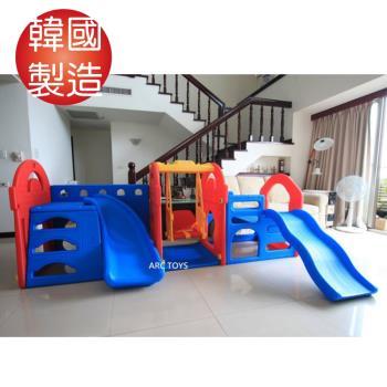 韓國 HAENIM TOY 豪華遊戲王國 KINGDOM PLAY ZONE 溜滑梯 HN-710
