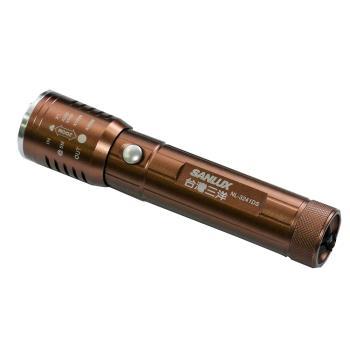 台灣三洋SANLUX  LED手電筒古銅色 NL-3241DS