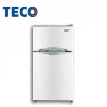 TECO東元 100公升雙門冰箱R1001W