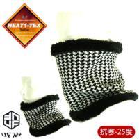[UF72+]HEAT1-TEX防風內長毛發熱兩用圍脖UF6304撲克(黑白)保暖銷售第一/男女適用/滑雪/冬季保溫