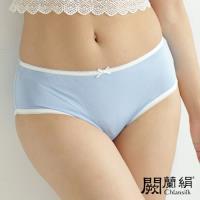 闕蘭絹 清新甜美100%蠶絲內褲 藍色(2211)