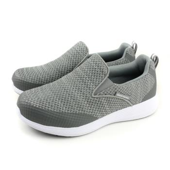 SKECHERS 運動鞋 懶人鞋 男鞋 寬楦 灰色 52885WGRY no880