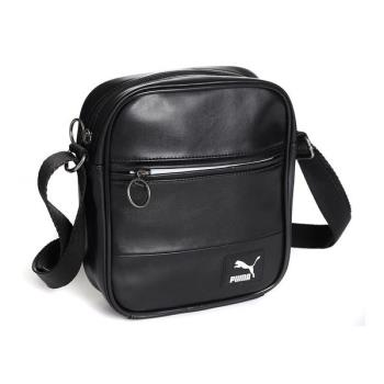 PUMA ORIGINALS小側背包 小LOGO   iSport愛運動全新正品 07501601 黑色