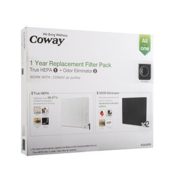 Coway 空氣清淨機一年份濾網【旗艦環禦型 AP-1512HH】