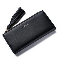 Acorn*橡果-韓版長夾手拿包卡包手機包8904(黑色)