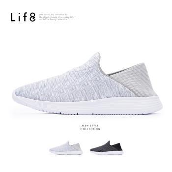 Life8-Sport 2way後踩 360度針織運動鞋-09891