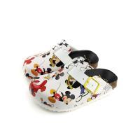 迪士尼 米奇 拖鞋 勃肯拖 童鞋 白色 中童 D118622 no113