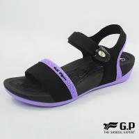 G.P 優雅舒適雙密度鞋墊涼鞋G8690W-紫色(SIZE:35-39 共三色)