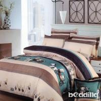 BEDDING-活性印染雙人鋪棉床包兩用被套四件組-格林童話