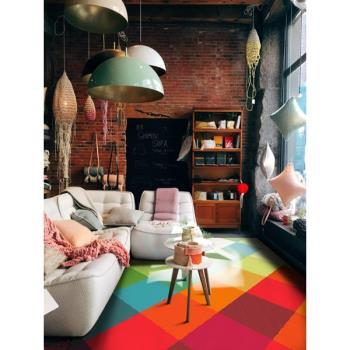 范登伯格  Swing波動極簡幾何現代圖騰進口地毯-漸層格160x230cm