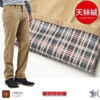NST Jeans  保暖主打_ 秋冬駝色 內裏天絲絨休閒男褲(中腰) 397(66555)