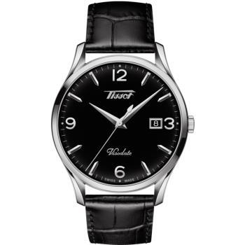 TISSOT天梭 VISODATE 經典復刻石英錶 T1184101605700