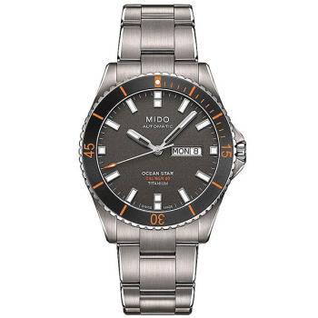 MIDO 美度 海洋之星 動力80H鈦金屬潛水機械錶) M0264304406100