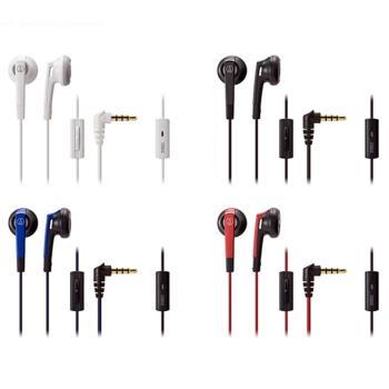 日本Audio-Technica鐵三角半密閉型耳塞式耳機ATH-C505iS(日本平行輸入)
