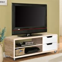 【咱的厝】DIY曼格尼電視櫃/茶几桌/邊桌(淺橡+白色)