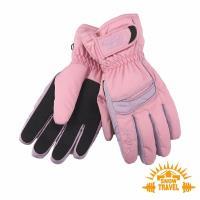 SNOWTRAVEL SKI-DRI防水透氣PRIMALOFT保暖手套 (粉紅)