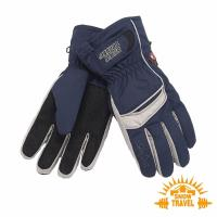 SNOWTRAVEL SKI-DRI防水透氣PRIMALOFT保暖手套 (深藍)