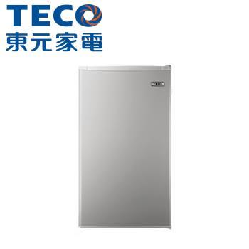 TECO東元 99公升單門冰箱R1092N(只送不裝)