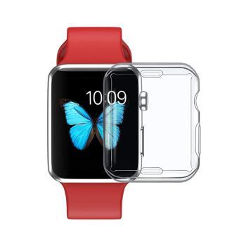 Apple Watch 38mm 全包覆透明保護套
