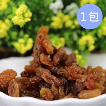 Golden Fruit 全天然愛琴海區蘇丹黃葡萄乾(無籽)5包(200g/包)