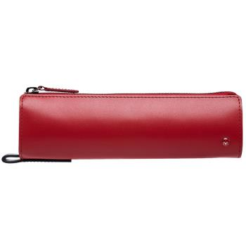 MONDAINE 瑞士國鐵經典牛皮筆袋-紅
