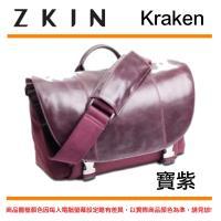 【ZKIN】 Kraken 單肩 側背包 斜背包 相機 攝影包 相機包 (寶紫色)