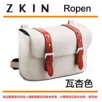 【ZKIN】 Ropen 單肩 背包 斜背 側背包 相機 攝影包 相機包 (瓦杏色)