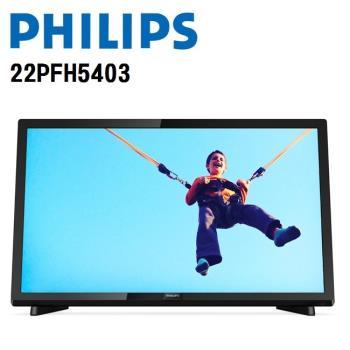 PHILIPS飛利浦 22吋護眼液晶顯示器+視訊盒 22PFH5403