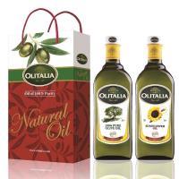 Olitalia奧利塔-橄欖油禮盒X1+葵花油禮盒X2(橄欖油X2瓶+葵花油X4瓶;1000ML/瓶)