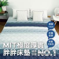 [AndyBedding]MIT超厚實透氣純棉床墊-雙人加大6尺