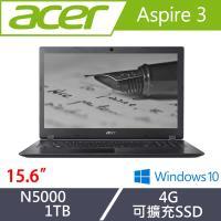 Acer宏碁 Aspire 3 超值文書筆電 A315-32-P4HZ 15.6吋/N5000/4G/1T