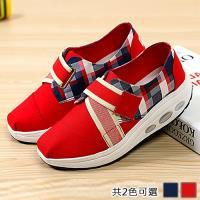 【Alice 】型- 造型格紋英倫風健走鞋