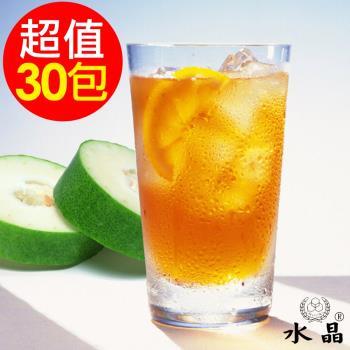 水晶 古早味冬瓜茶包6袋(5包/袋 共30包)