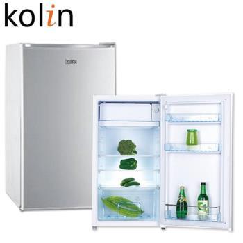 歌林KOLIN 91公升單門電冰箱KR-110S03