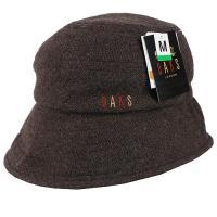 【DAKS】抗UV保暖格紋漁夫帽(咖啡色)