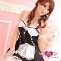 天使霓裳 角色扮演 歐式超萌女僕裝 性感派對表演服(黑白F) ZD80330