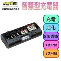 【MAHA-POWEREX】八通道智慧型充電器(MH-C808M)