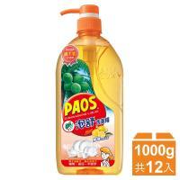 泡舒 洗潔精1000gx12瓶-檸檬去味清新