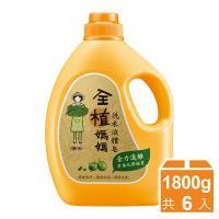 全植媽媽 洗衣液體皂1800gx6瓶-檀香