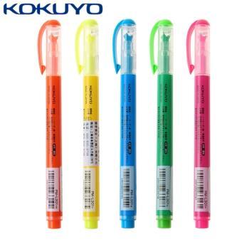 日本KOKUYO獨角仙螢光筆Beetle Tip 3way maker PM-L301-5S(5色組)日本平行輸入
