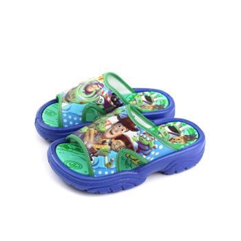 Disney PIXAR 皮克斯 玩具總動員 拖鞋 防水 藍/綠色 中童 TYKS87306 no646