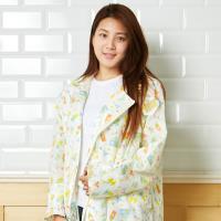 RAINSTORY雨衣-童話小木屋連身雨衣(L號)