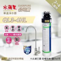 EVERPURE 水蘋果 QL3-4HL 單道淨水器