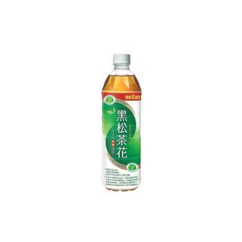 黑松 茶花綠茶  580ml (24入)